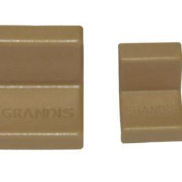 Мебельный  уголок GRANDIS металлический с заглушкой: груша