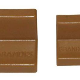 Мебельный уголок GRANDIS металлический с заглушкой: ольха