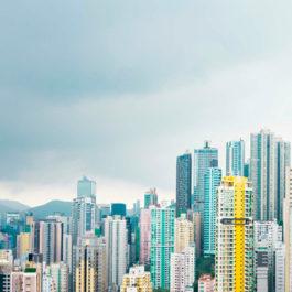Кухонный фартук Гонконг