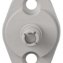 Крепление к корпусу для Free flap H 1.5 цвет серый