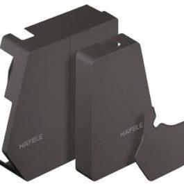 Заглушка Free flap 1.7 антрацит, комплект