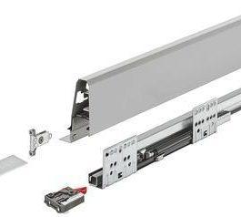 Matrix Box S, комплект ящика, 35 кг, серый, 84x400 мм, soft-close