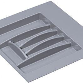 Лоток для столовых приборов белый 503x498x46 мм (ширина шкафа 500-550 мм)