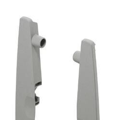 Matrix Box P высокое крепление фасада внутреннего ящика (для высокого внутреннего ящика), серый